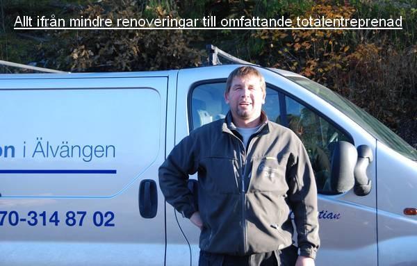 Ett byggföretag i Ale, Kungälv och Göteborg